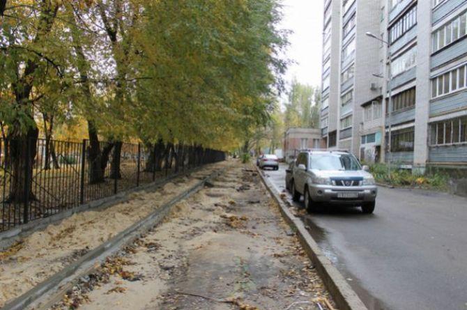 В Саратове на тротуары потратят 800 миллионов рублей