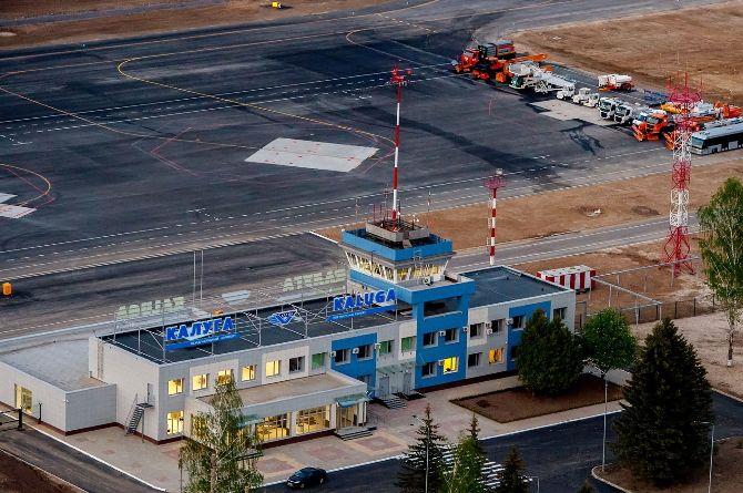 В аэропорту Калуги построят ещё один терминал