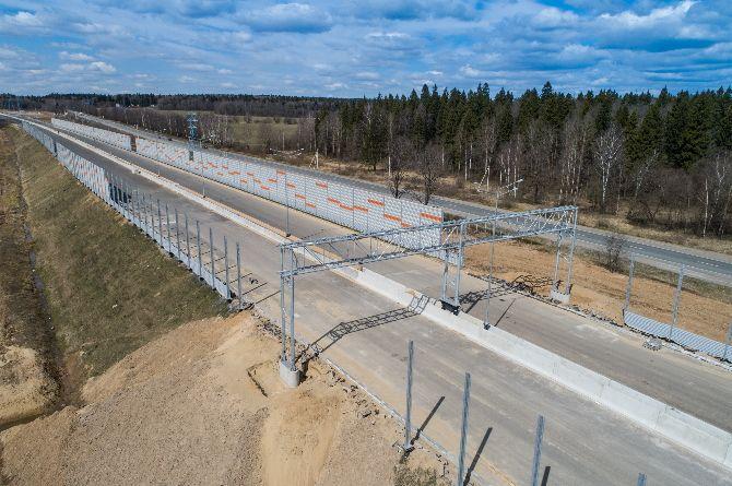 Минстрой пересмотрит требования к строительству дорог ради ускорения ЦКАД