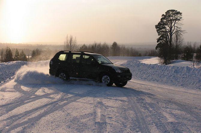 В ГИБДД Кузбасса рассказали как избежать замерзания на дороге