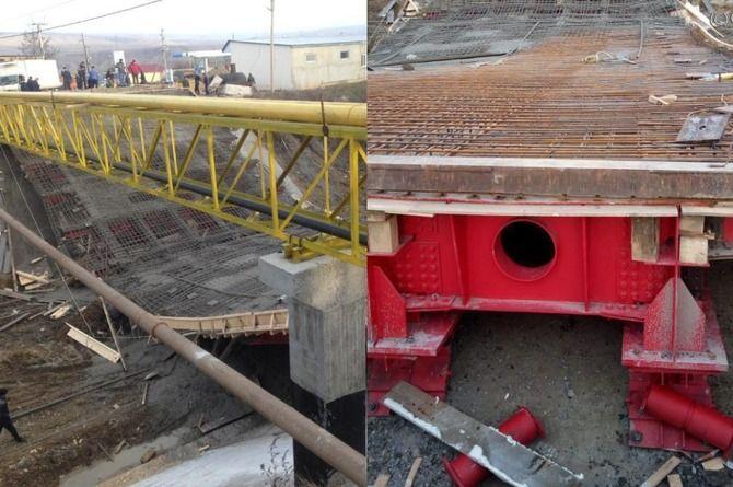 До конца года будет восстановлен рухнувший при строительстве мост в Буйнакске