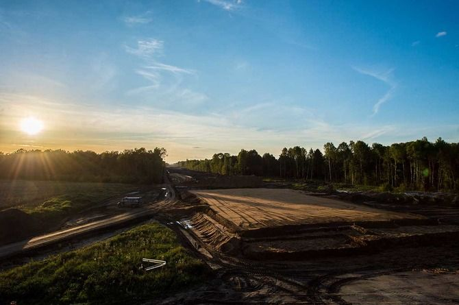 Объявлен тендер на строительство первого этапа Южной магистрали в Петербурге