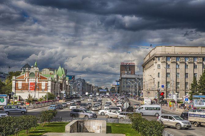 Завершился капитальный ремонт центральной магистрали Новосибирска
