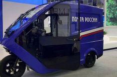 «Почта России» тестирует трицикл