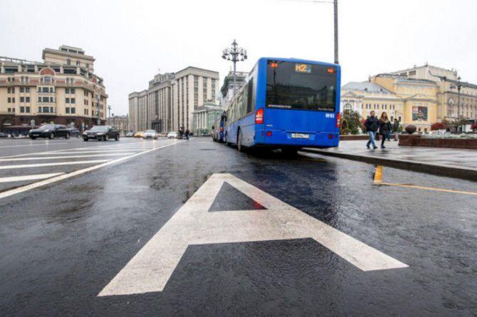 Московским водителям запретят выезд на выделенки даже по выходным дням