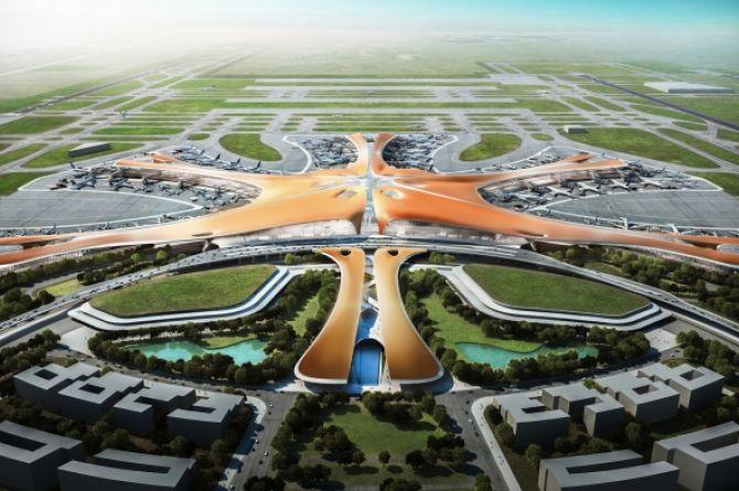 В Пекине открыли самый большой аэропорт в мире