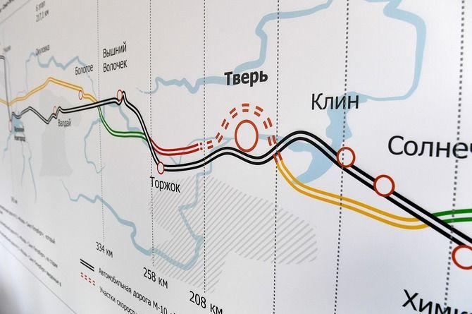 Стоимость строительства обхода Твери на трассе «Нева» превысит 60 миллиардов рублей