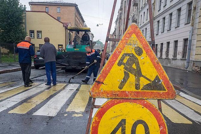 Смольный начал поиск подрядчиков для ремонта петербургских дорог на 2020 год