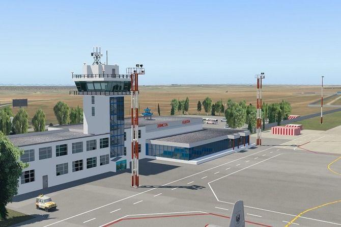 Стоимость реконструкции аэропорта Элисты удвоилась за неделю