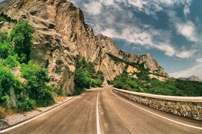 В Крыму построят курортные дороги