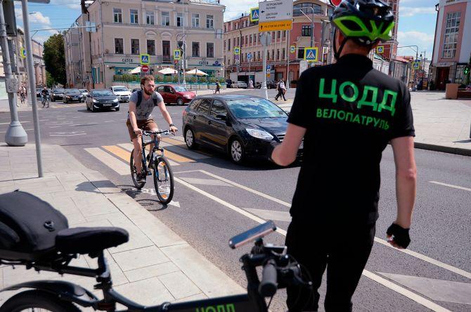 В столице заработал велопатруль от ЦОДД