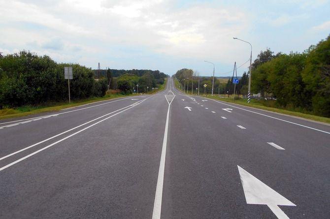 В Тульской области завершился ремонт участка федеральной автодороги М-2 «Крым»