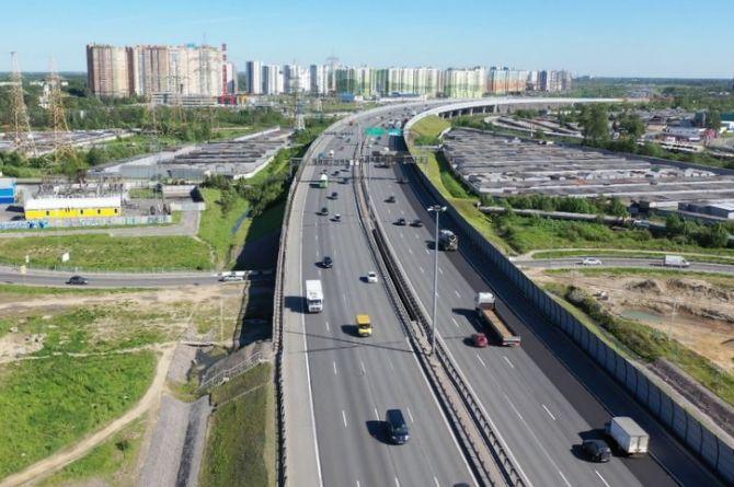 Петербург получил первый миллиард рублей на начало строительства Широтной магистрали