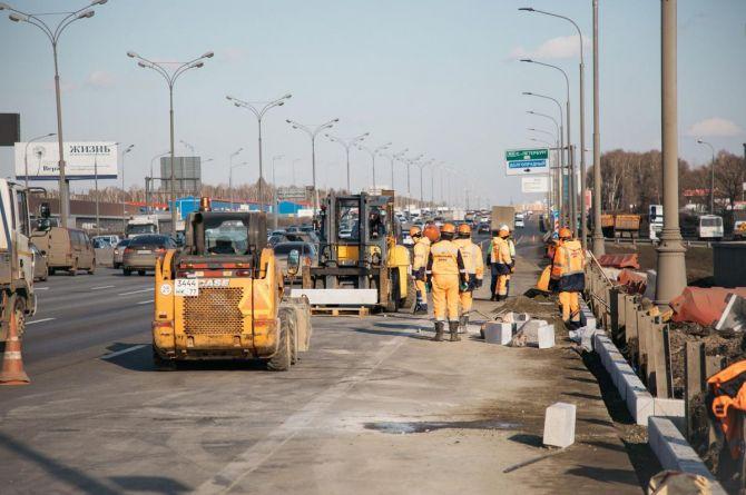 На дорожную сеть Москвы потратят почти треть средств Адресной инвестиционной программы