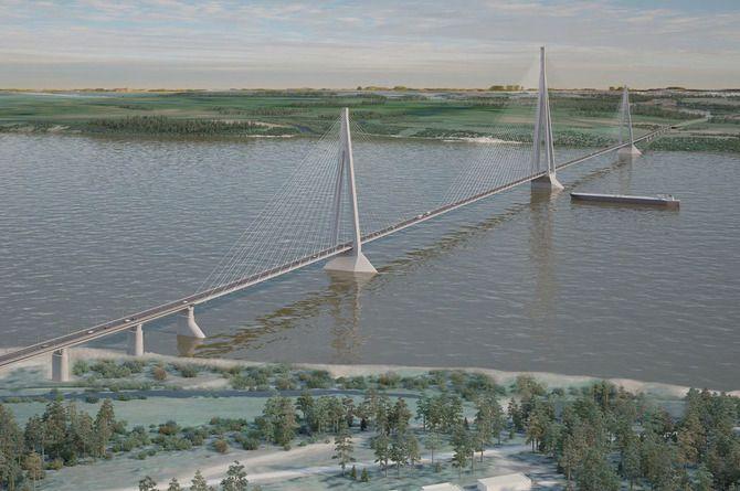 Стали известны сроки проектирования и строительства моста через Лену в Якутии