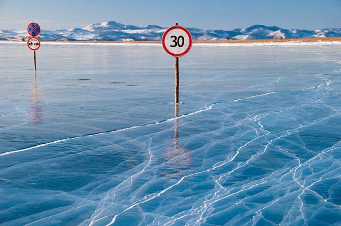 Долговечно и практично: на трассе «Байкал» сделали разметку из горячего термопластика