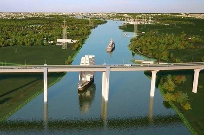 Строительство моста через Калининградский залив подорожало до 44 миллиардов рублей
