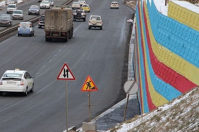 Непешеходный «тротуар» для карликов появился во Владивостоке