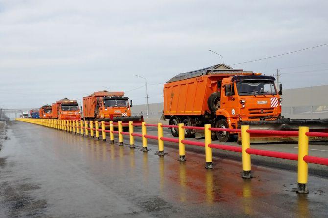 Минтранс планирует оборудовать все четырехполосные дороги барьерными разделителями