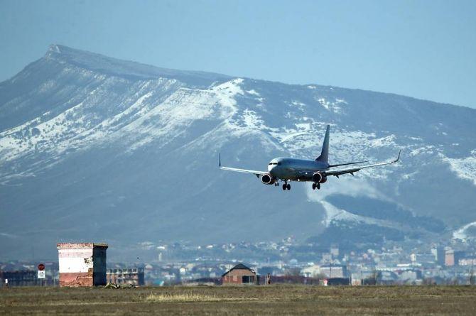Махачкалинский аэропорт не открылся к хаджу