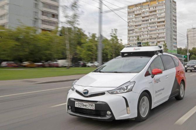 «Яндекс» предлагает использовать полностью беспилотные автомобили в коммерческих сервисах