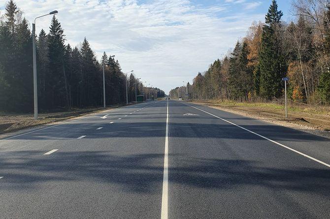 Проведён капитальный ремонт участка трассы А-130 в Калужском районе