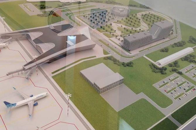В Омске показали макет будущего аэропорта «Омск –Фёдоровка»