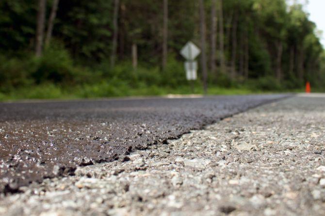 В Забайкальском крае защитили слоями износа 25 км федеральных трасс
