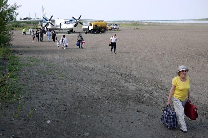 Подтапливаемый аэропорт Зырянка в Якутии перенесут в безопасное место
