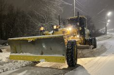 В мэрии Красноярска сравнили уборку снега с «поеданием слона по кусочкам»