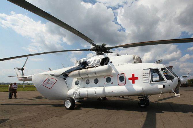 В России построят сеть вертолётных площадок для эвакуации пострадавших с мест ДТП