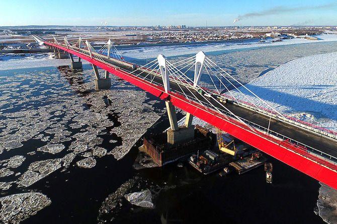 Завершилось строительство автомобильного моста между Россией и Китаем в Благовещенске