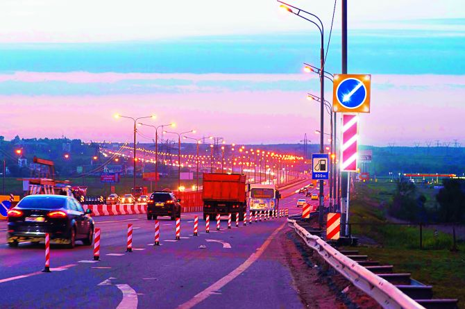 «Для дорожников крайне удачный год»: объём строительства дорог выросло на 14%