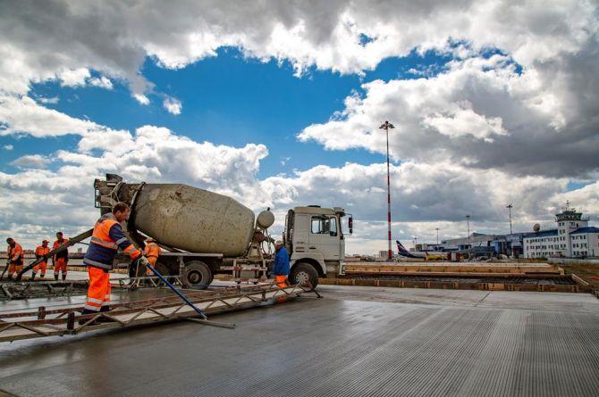 Второй этап реконструкции ВПП аэропорта «Якутск» перенесен