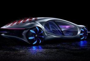 Управлять машиной теперь можно с помощью силы мысли. Вам понадобится шлем и Mercedes Vision AVTR