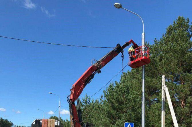 Второй этап строительства линий освещения завершили на 320 км подмосковных дорог