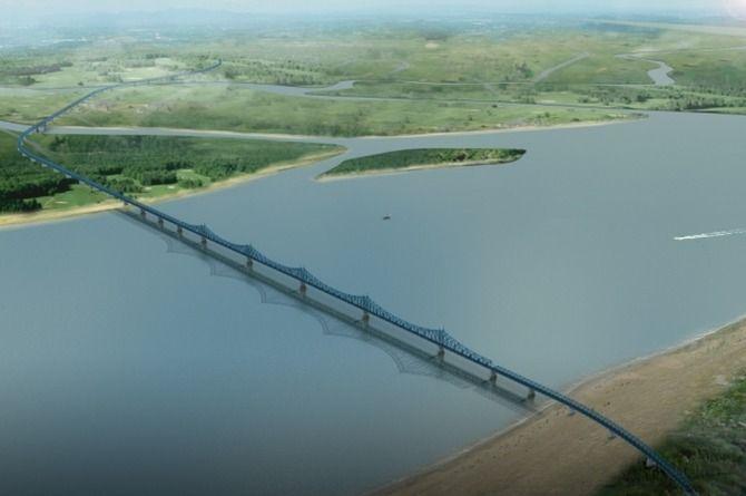 Решение о строительстве моста через Лену в Якутии может быть принято до конца года