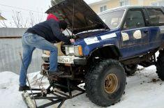 Житель Иваново уже 20 лет чистит сам дороги от снега