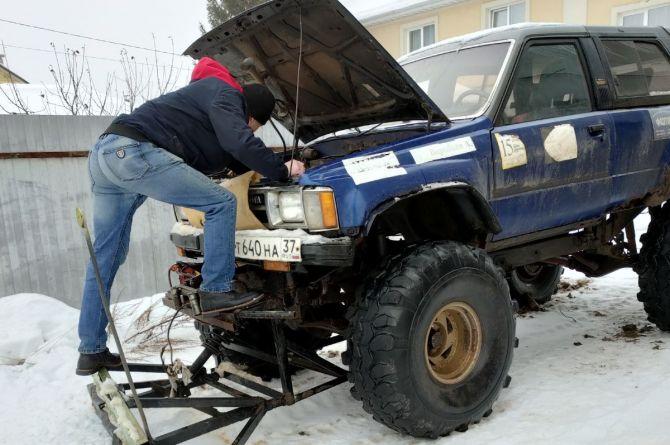 В Иваново местный житель уже 20 лет чистит сам дороги от снега