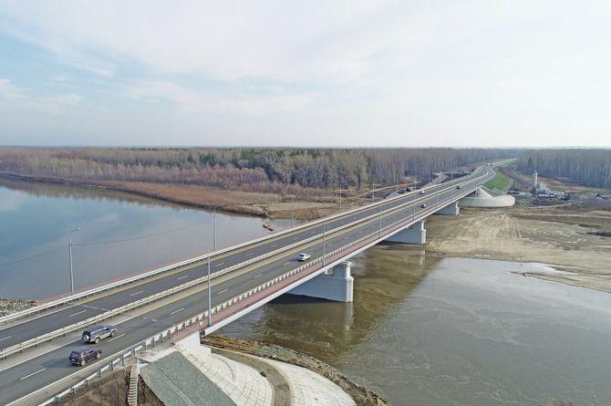 Мост на Чуйском тракте построили за 5 лет и 3,3 миллиарда рублей
