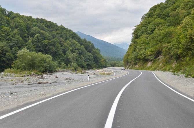 В Северной Осетии строят дорогу в самый отдалённый район республики