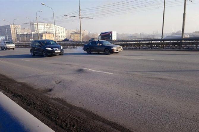 Мичуринский мост в Красноярске обследуют перед ремонтом