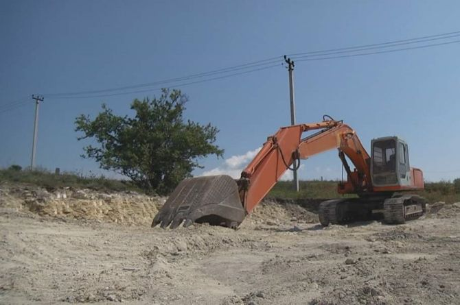 Заканчиваются подготовительные работы на строительстве дороги к Керченской крепости