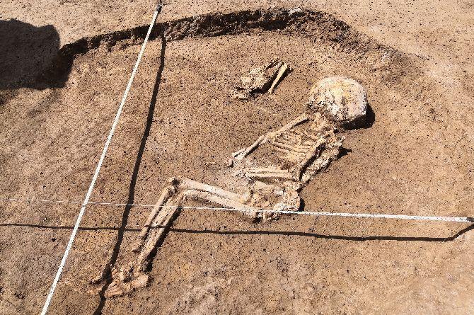 На трассе М-4 «Дон» были обнаружены доисторические захоронения