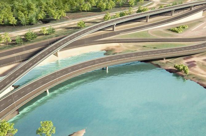 Автомобильный мост возле «Лахта Центра» в Петербурге построят за 3,6 миллиарда