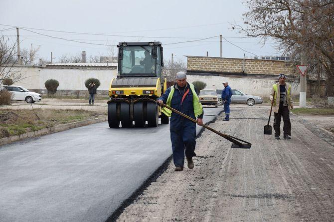 Дороги Евпатории реконструируют за миллиард рублей