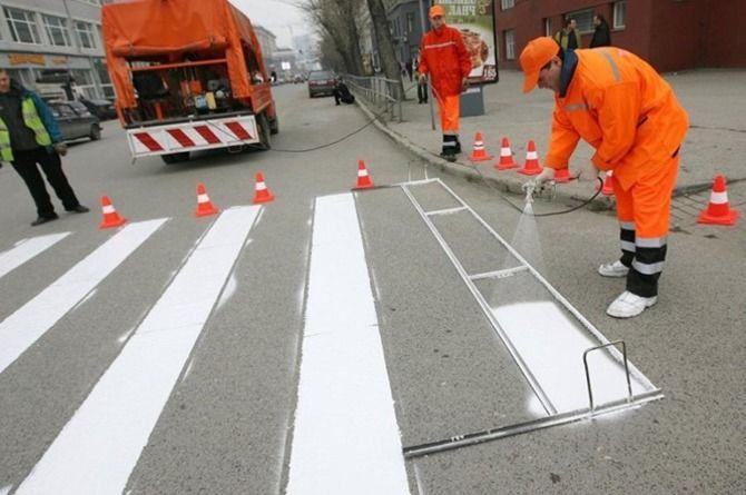 В Ростове ищут подрядчика для нанесения дорожной разметки за 300 миллионов рублей