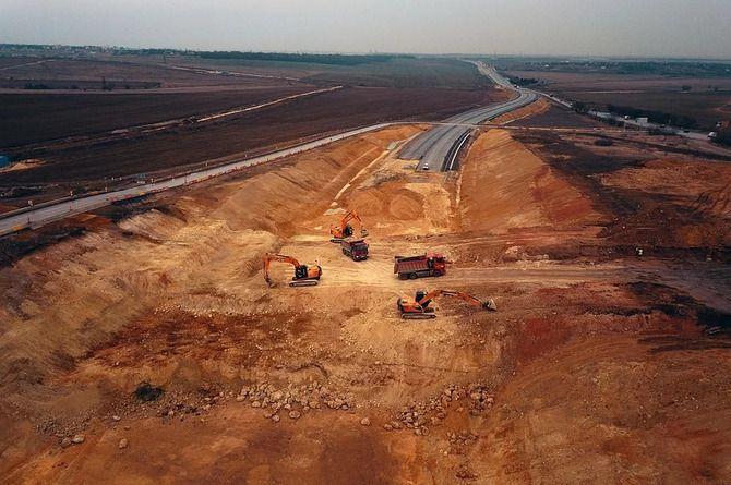 Началось строительство последнего незаасфальтированного участка «Тавриды»