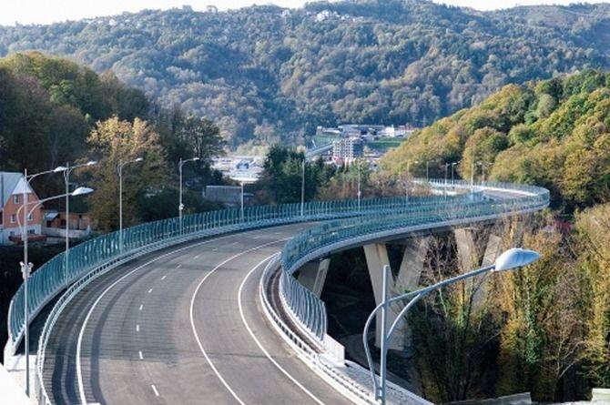Проект новой трассы Джубга — Сочи может появиться к концу этого года