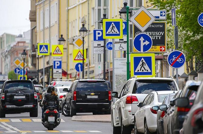 В России обновят дорожные знаки